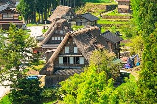 Shirakawa-go and Gokayama(Ainokura) Sightseeing Bus