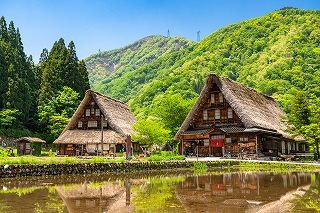 Shirakawa-go and Gokayama(Suganuma) Sightseeing Bus